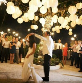 Paper party lanterns